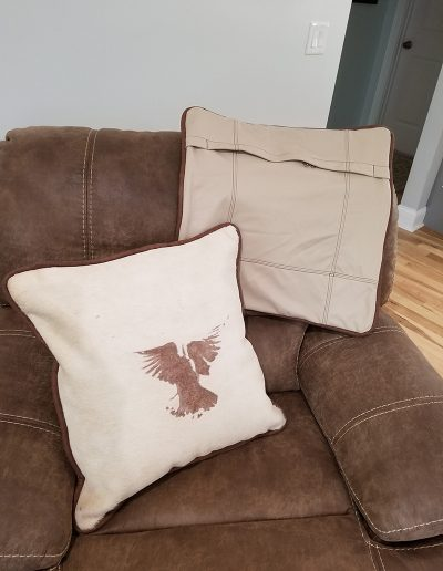 Deco Pillows with Angels (20x20)