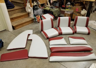 Boat Re-Upholstery