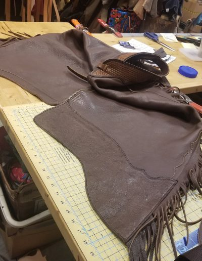 Chaps Lengthening: Before & After