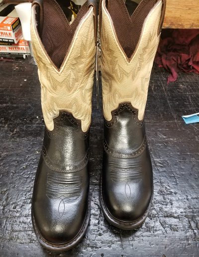 Re-Dyed Boots: After