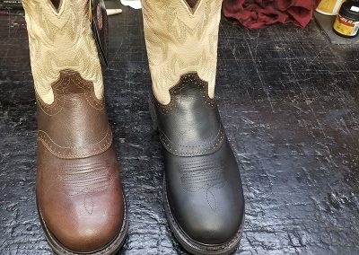 Re-Dyed Cowboy Boots