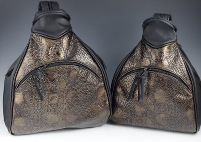 Large and Small Sling Pack Comparison: Side-by-Side